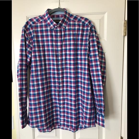 Johnston & Murphy Other - Johnston & Murphy Designer like new shirt L
